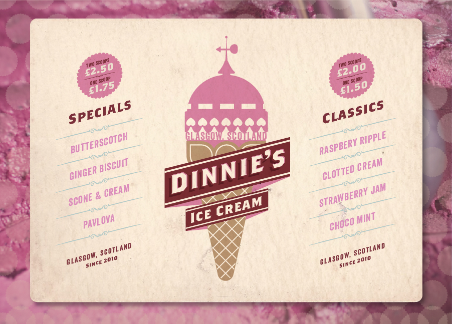 Dinnie's Ice Cream.